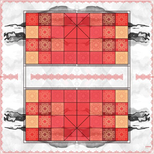 Print and play board for Xiangqi